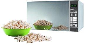 A mikrosütő ideális popcorn és számos más étel elkészítésére is